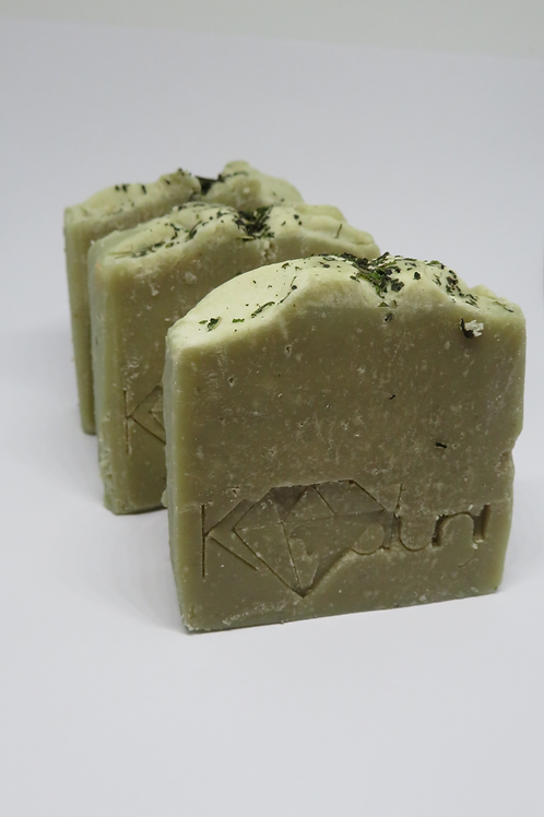 Green Clay & Matcha Tea organic soap