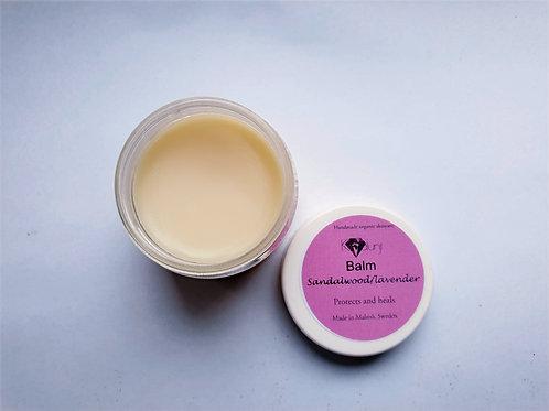 Organic balm- Sandalwood/lavender
