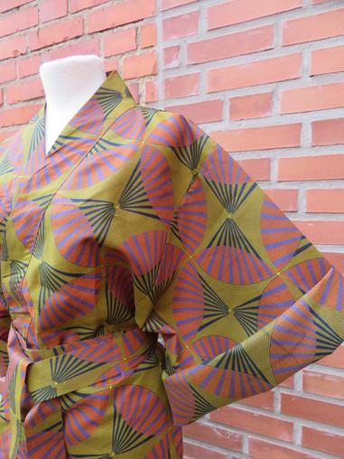 Kimono- Jaja close up side