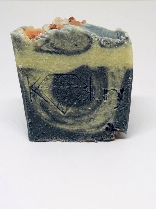 Indigo Salt organic soap