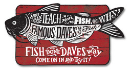 """Famous Dave's """"Fish Promo"""""""