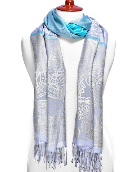 Turquoise Scarf AD-214