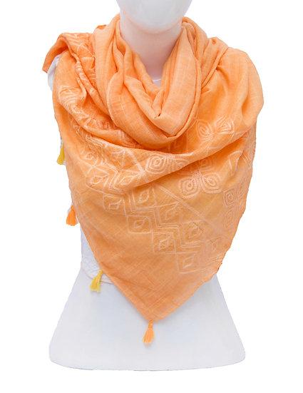 Orange Scarf AD-101