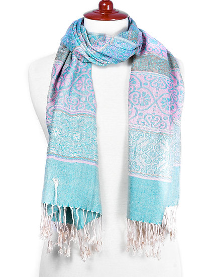 Turquoise Scarf AD-268