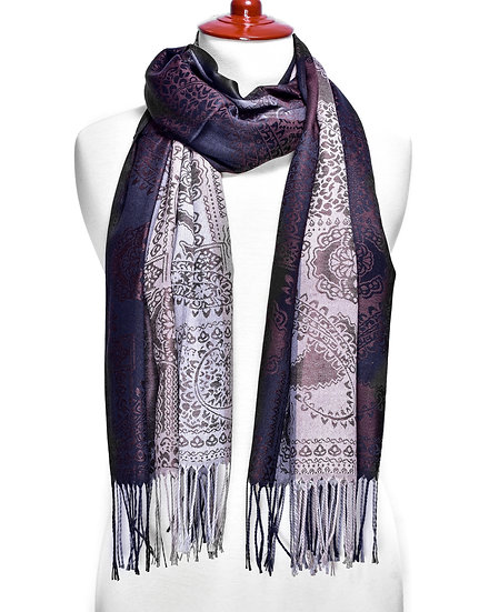 Pale-pink Scarf AD-212