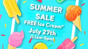 Aasma's Dream Summer Sale July 27th