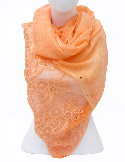 Orange Scarf AD-105
