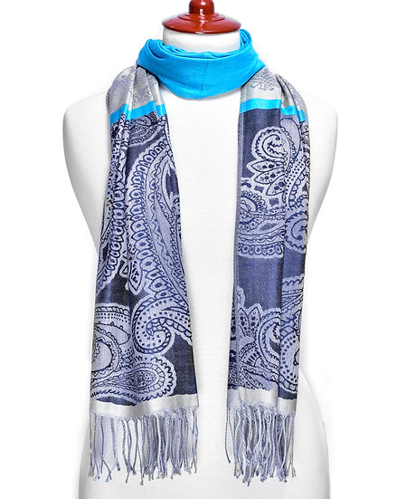 Azure Scarf AD-219