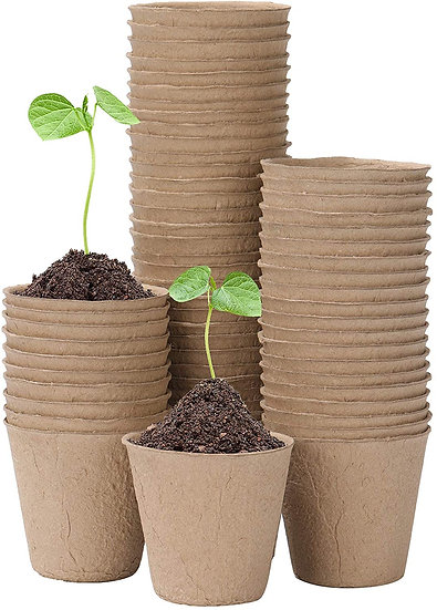 Peat Plant Pots for Plantings - Oubest