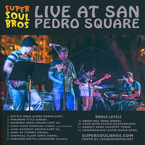 Live @ San Pedro Square CD