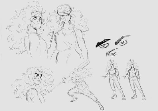 Rosana Concept Sketch
