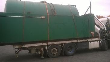 Fuel Storage Tank Decommissioning