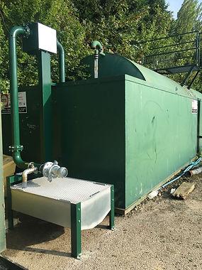 leachate storage tank