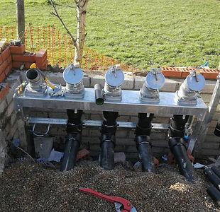 HDPE petrol pipe work