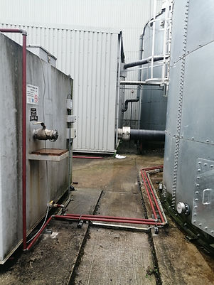 geneator feed & return fuel lines