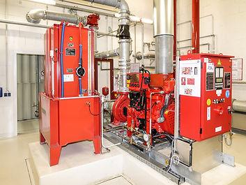 diesel fire pump system