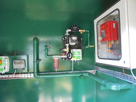 generator fuel polishing system