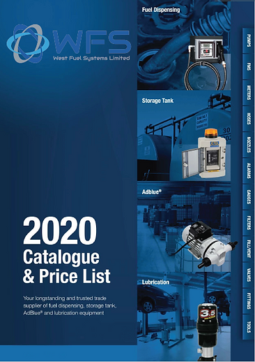 West fuel systems product catalouge