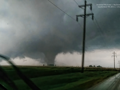 Illinois Tornadoes Interactive Map for 2016