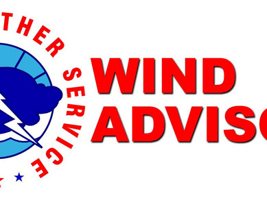 Gusty winds expected today and tonight
