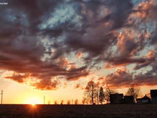 New camera & sunset!