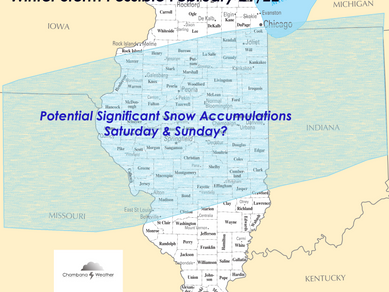 Potential Weekend Snow