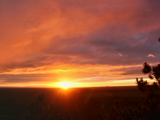 October 1st | Roche-A-Cri Mound, Wisconsin Sunset