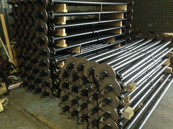 INDUSTRIAL STEEL SCREW PILES