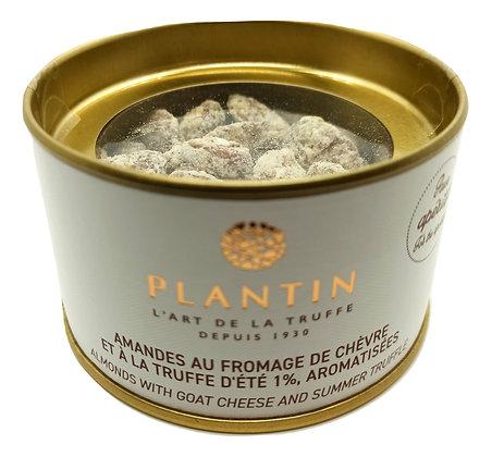 Amandes au fromage de chèvre et truffe