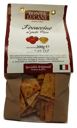 """Focaccine """"Pizza"""" Tomates et origan"""
