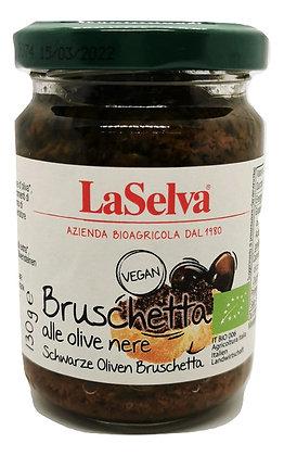 Bruschetta aux olives noires Bio