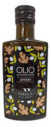 Huile d'olive aromatisée au gingembre