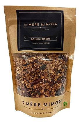 Granola Doudou Daddy - Cannelle & Cranberries