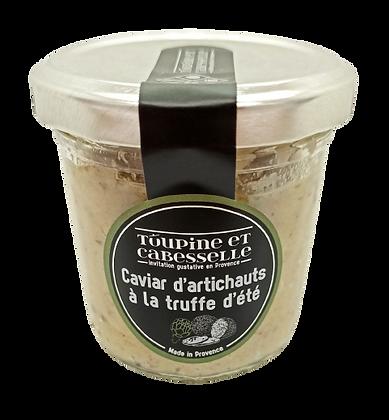 Caviar d'artichauts à la truffe d'été