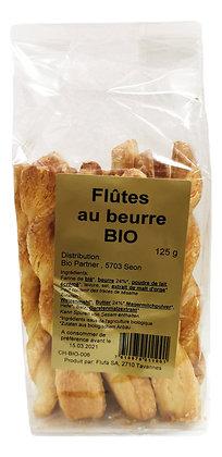 Flûtes au beurre Bio