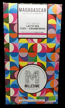 Chocolat 55% Yuzu & Cranberries