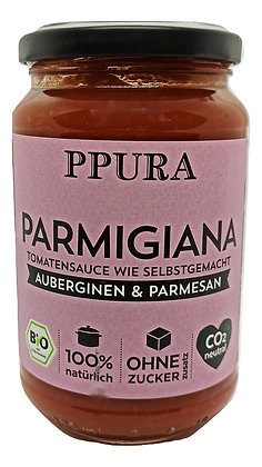 Sauce tomate Aubergines et Parmesan BIO