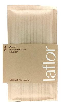 Chocolat Laflor au lait 56% Equateur