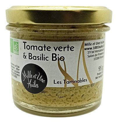 Tartinable Tomates vertes & Basilic