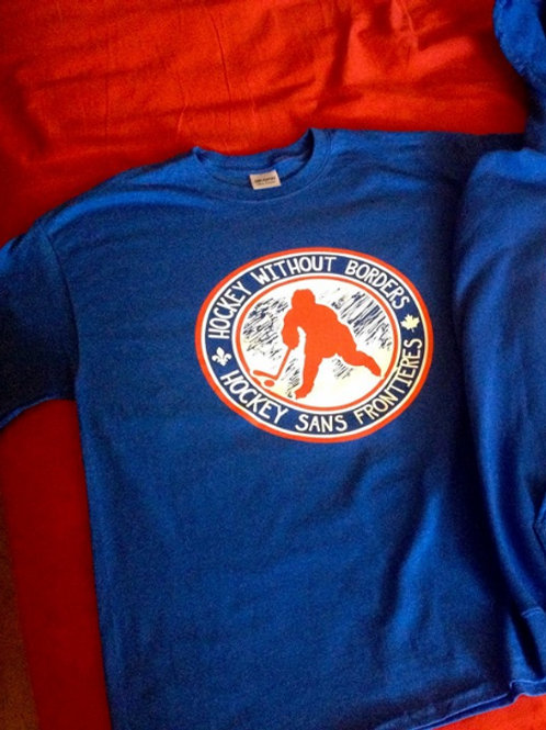 Hockey Without Borders T-Shirt