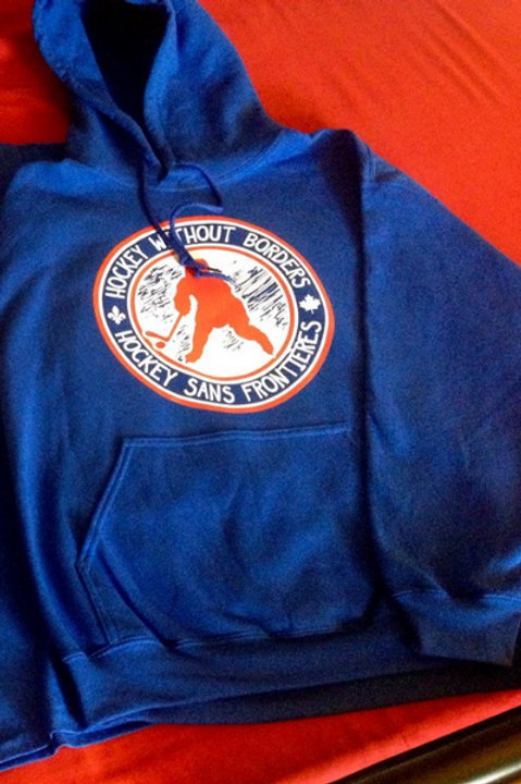 Hockey Without Borders Hoodie