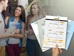 הדפסת שוברי תשלום למכללות