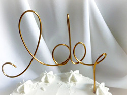Wanaka cake topper