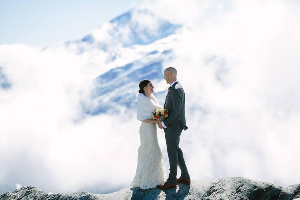Wanaka Wedding Garment Pressin
