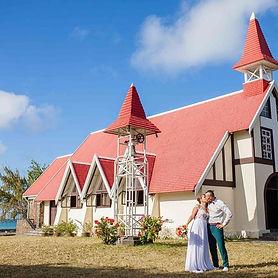 mariage religieux à l'église ile Maurice