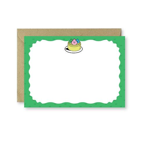 Yum Cha Notecard