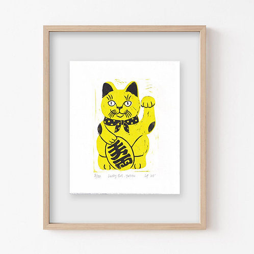 Lucky Cat print
