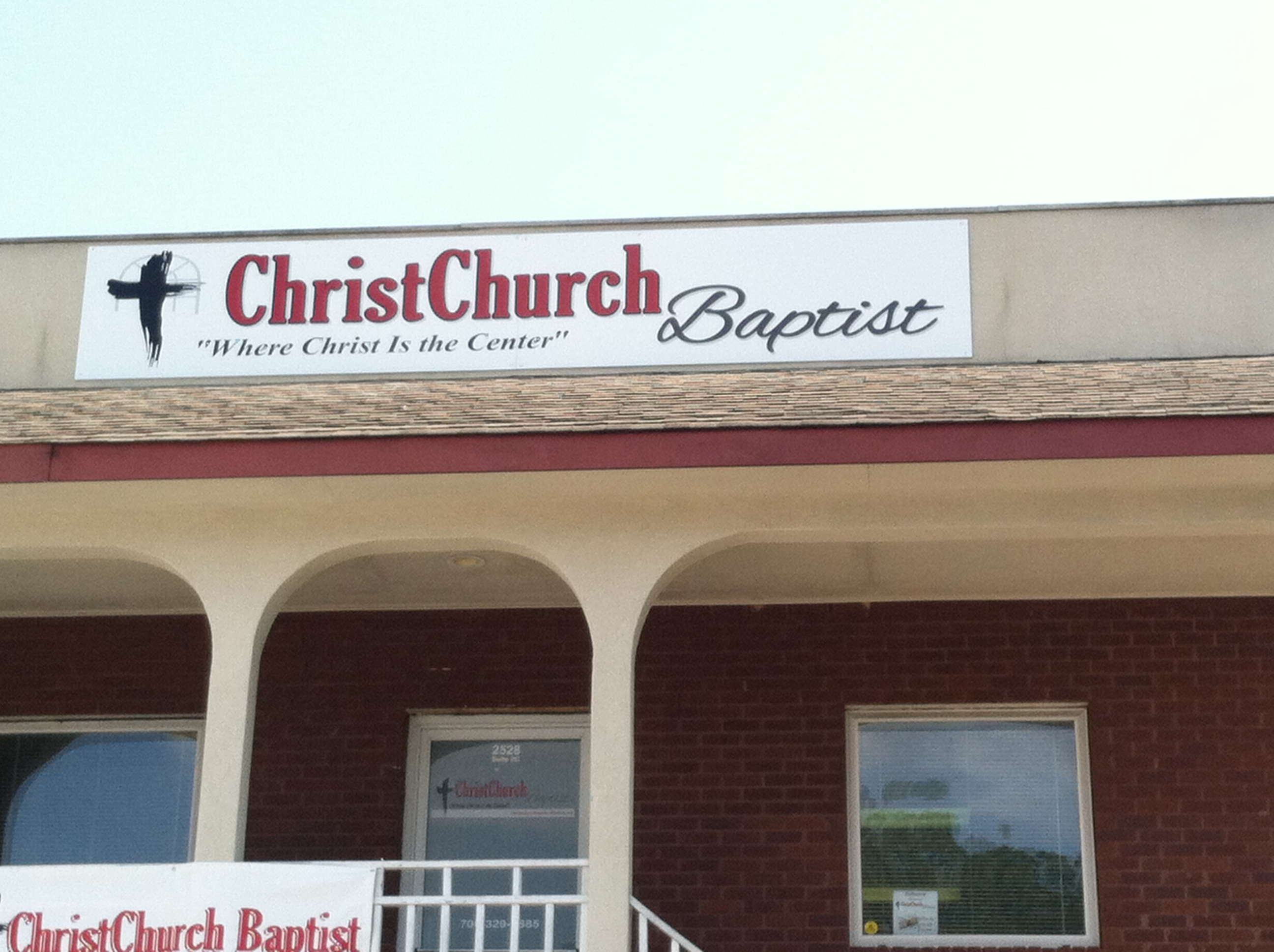 Church Sign_Install3