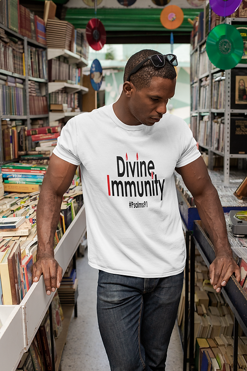 """Divine Immunity"" T-shirt (Men)"