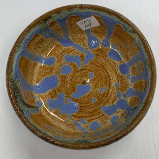 Pottery Bowl #109 - TOP VIEW